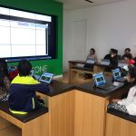 Students learn to code at the Microsoft Store